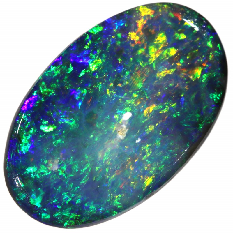 1.65 CTS BLACK OPAL STONE- FROM MINTABIE - [SAFE185]