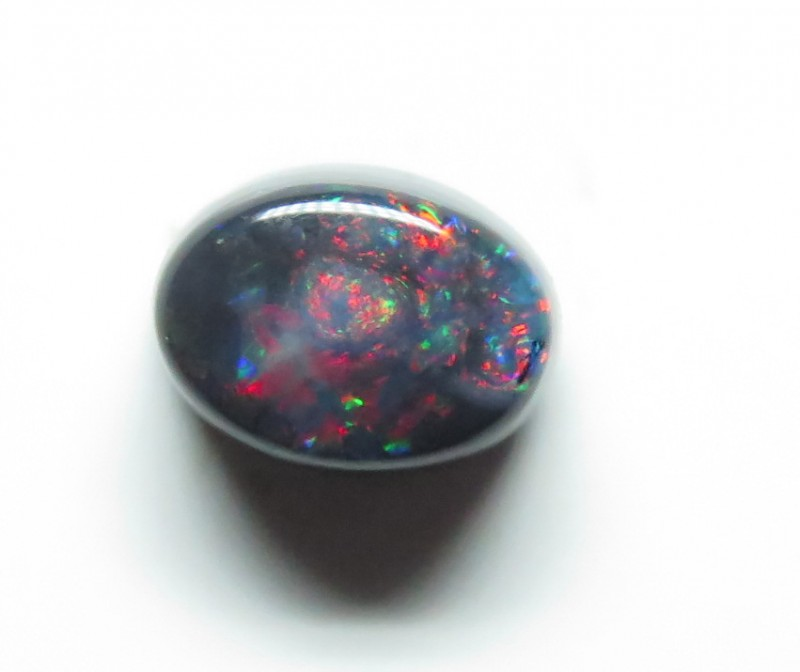 0.89ct Lightning Ridge Black Opal stone