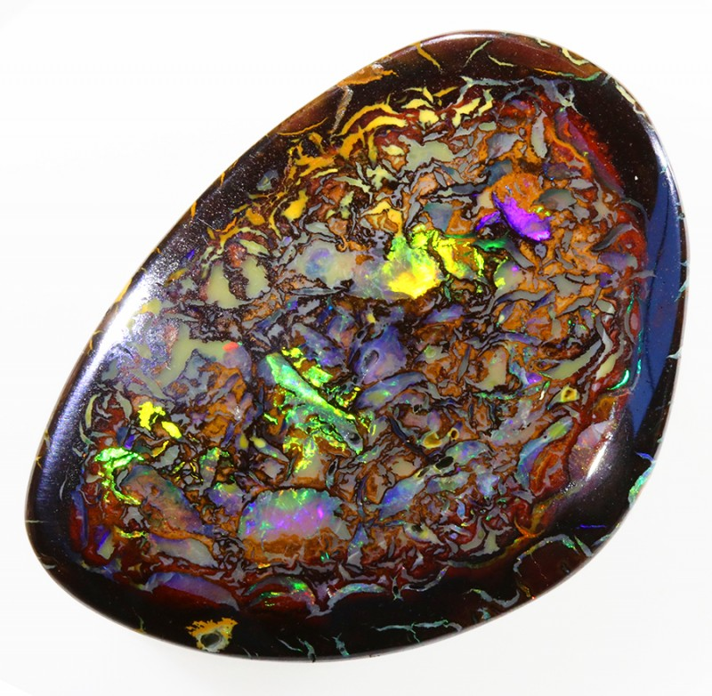 29.0CTS WOOD FOSSIL BOULDER OPAL WS266