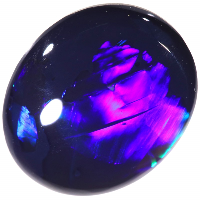 2.70 CTS BLACK OPAL STONE-LIGHTNING RIDGE- [LRO280]
