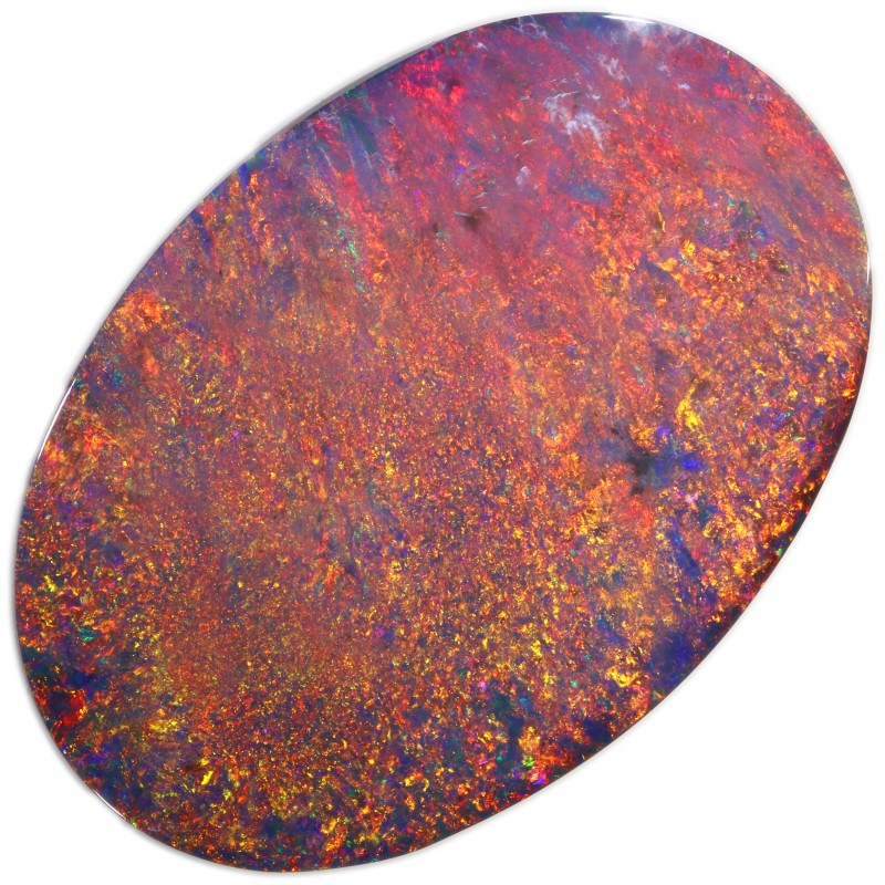 32.80 CTS BLACK OPAL STONE-LIGHTNING RIDGE- [LRO305]
