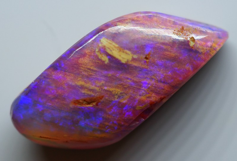4.00CT VIEW  WOOD REPLACEMENT BOULDER OPAL OI865