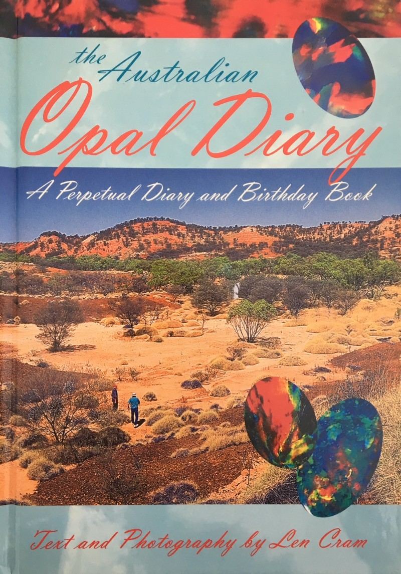 The Australian  Opal Diary and Birthday book author Len Cram