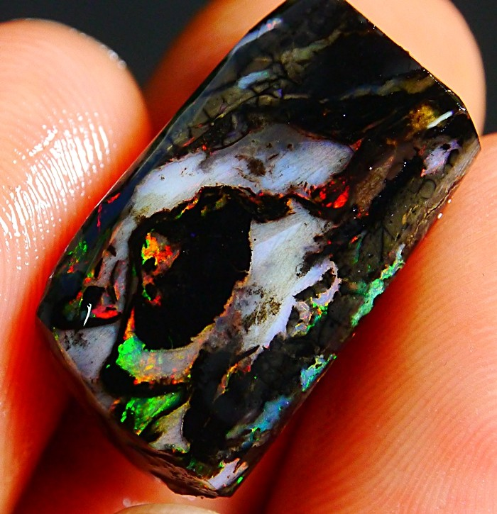 14.90 CT Beautiful Natural Indonesian Wood Fossil Opal Polished