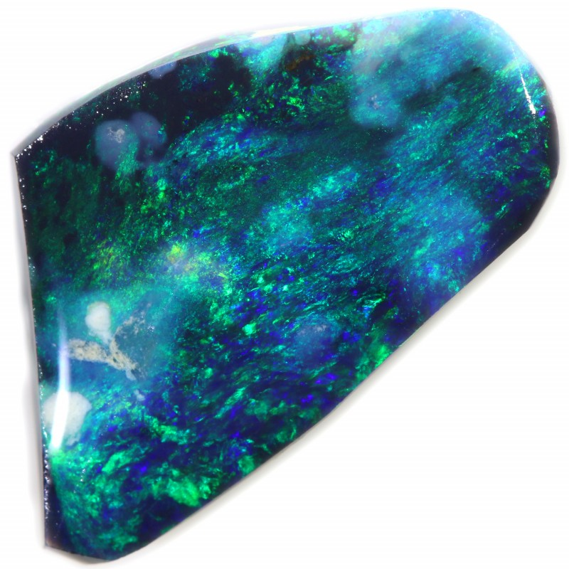 4.25 CTS BLACK OPAL RUBS LIGHTNING RIDGE [BR5712]