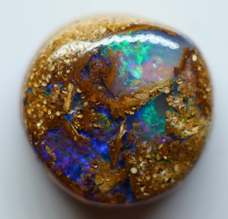 3.90CT VIEW  WOOD REPLACEMENT BOULDER OPAL ZI63