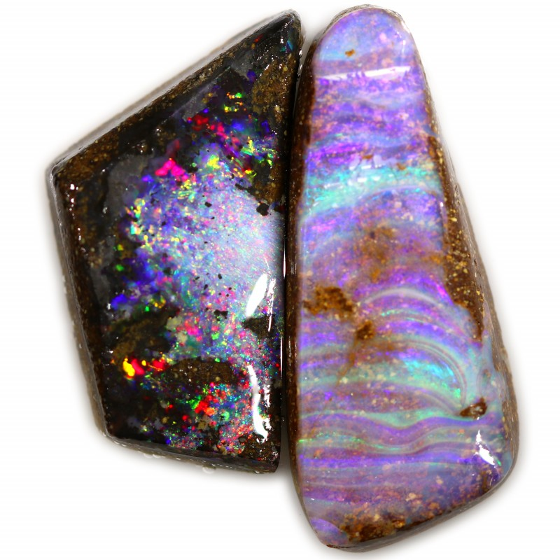 21.65 CTS BOULDER OPAL ROUGH - [BY7557]