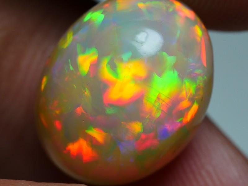 8.25 CRT WONDERFUL PRISM PEACOCK NEON FLASH WELO OPAL-