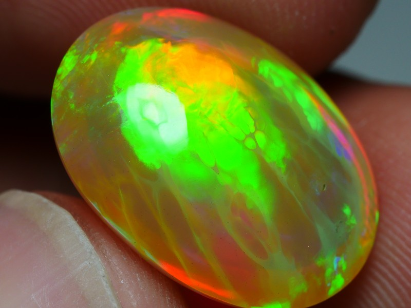 6.10 CRT STUNNING DOUBLE SIDE TREES PATTERN MULTICOLOR WELO OPAL-
