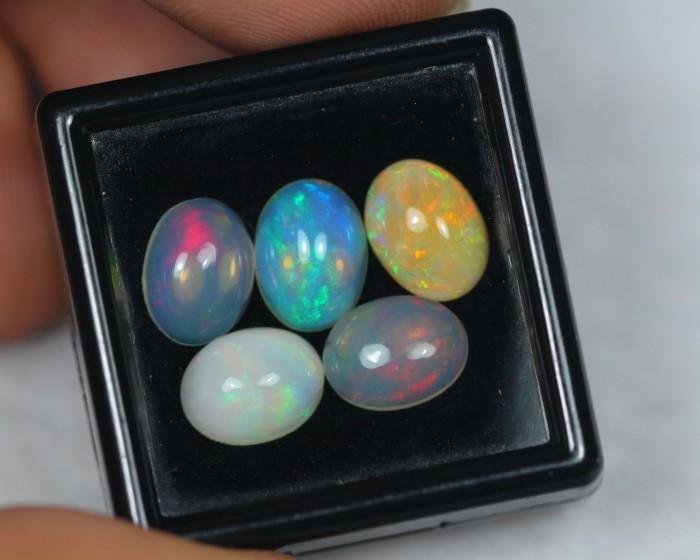 5.53Ct Natural Ethiopian Welo Opal Lot JA41
