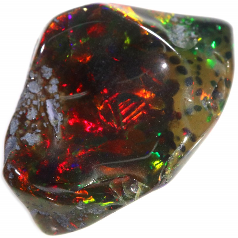 8.60 CTS WELO SCULPTURES  OPALS TREATED [V-SAFE113]