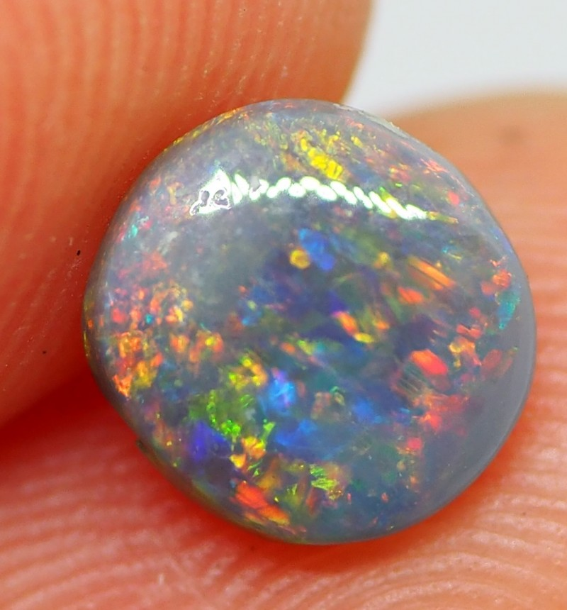 0.85 CTS DARK OPAL FROM LIGHTNING RIDGE RE316