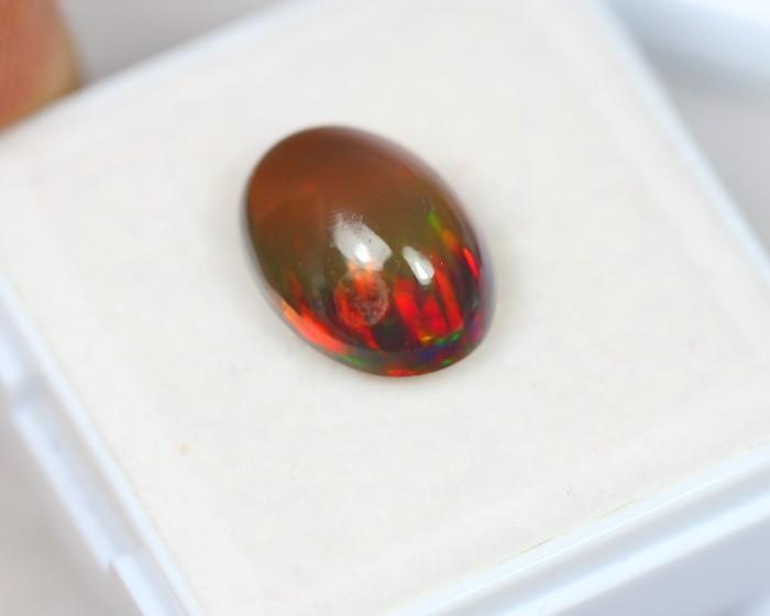 3.26Ct Natural Ethiopian Welo Smoked Opal Lot JA62
