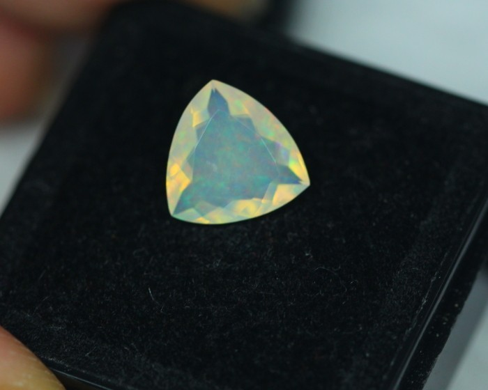 1.14Ct Natural Ethiopian Welo Faceted Opal Lot JA69