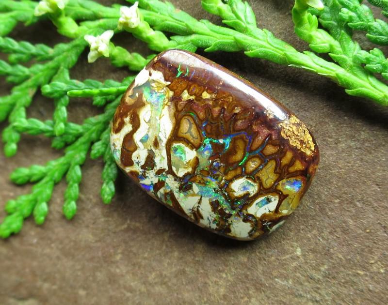 2 sided gem opal.