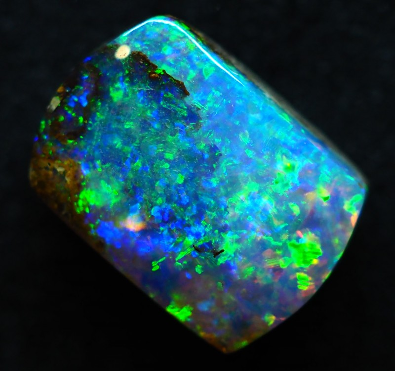 3.75CT VIEW PIPE WOOD REPLACEMENT BOULDER OPAL TT145
