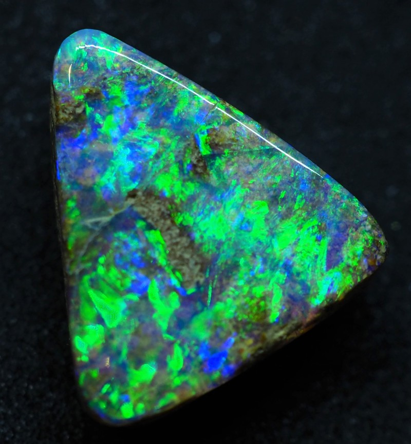 5.45CT VIEW PIPE WOOD REPLACEMENT BOULDER OPAL TT151