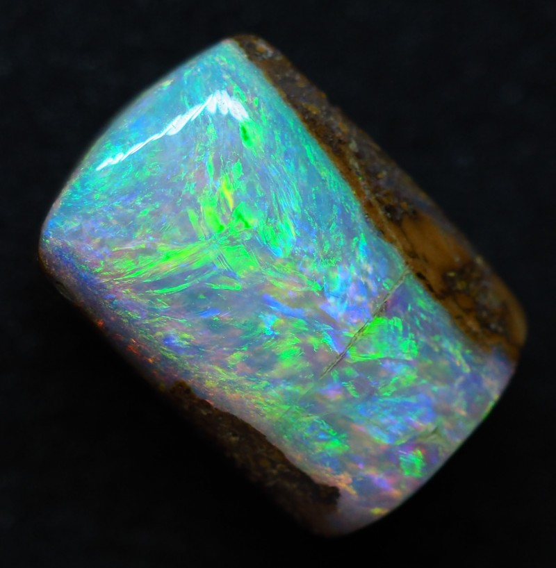 6.10CT VIEW PIPE WOOD REPLACEMENT BOULDER OPAL TT153