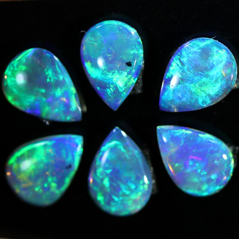 1.44 CTS SOLID OPAL PARCEL SET 6[C-SAFE156]