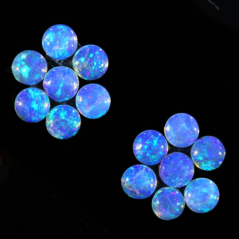2.05CTS 14 PIECES CALIBRATED OPAL PARCEL GREAT COLOR PLAY- S821