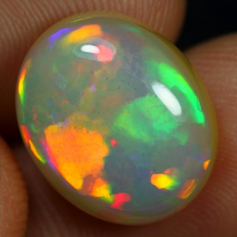 Top AAA 6.80cts Flagstone Pattern Ethiopian Opal