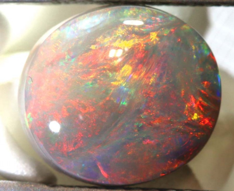 N4 - CTS QUALITY BLACK OPAL POLISHED STONE INV-1050