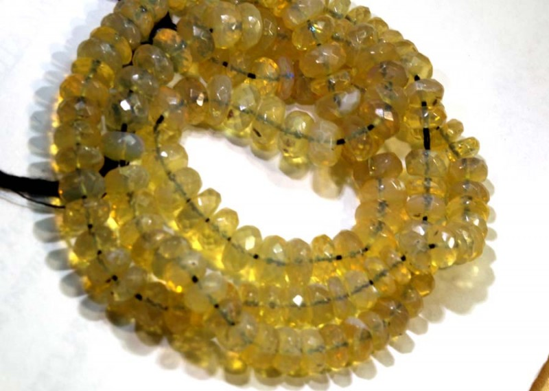 85.50 - CRYSTAL OPAL BEADS FACETED  TBO-8643