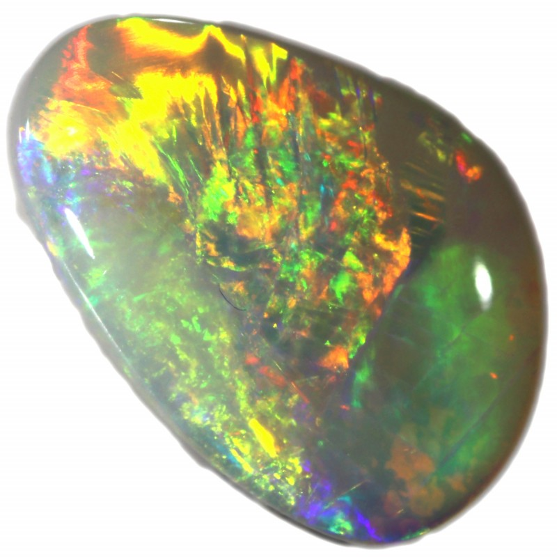1.82 CTS SOLID WHITE CLIFFS OPAL-POLISHED. [SAFE359]