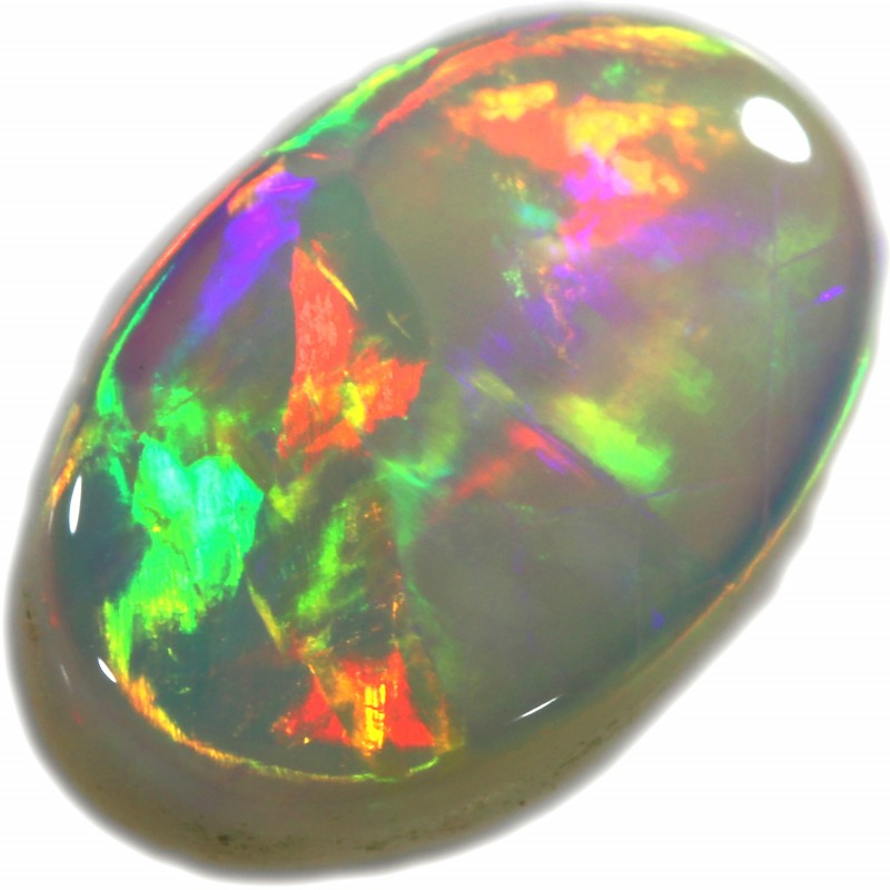 1.25 CTS SOLID WHITE CLIFFS OPAL-POLISHED. [SAFE362]