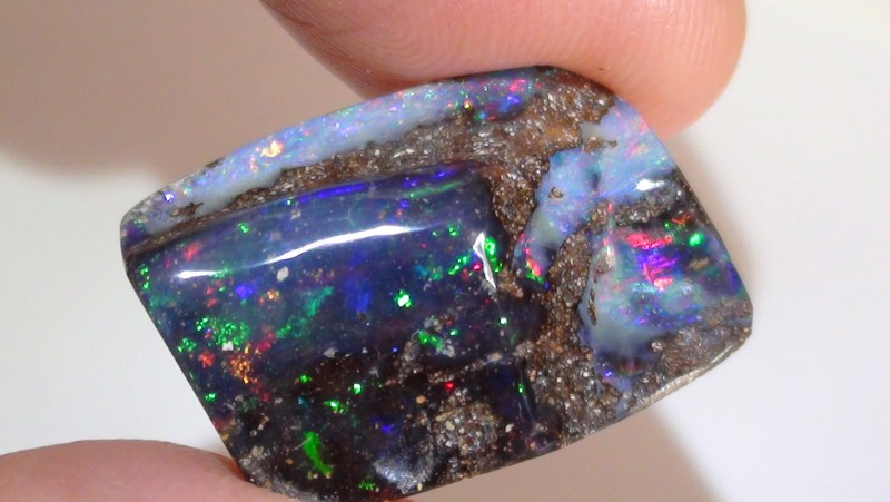 15.65 ct Boulder Opal With Beautiful Multi Color