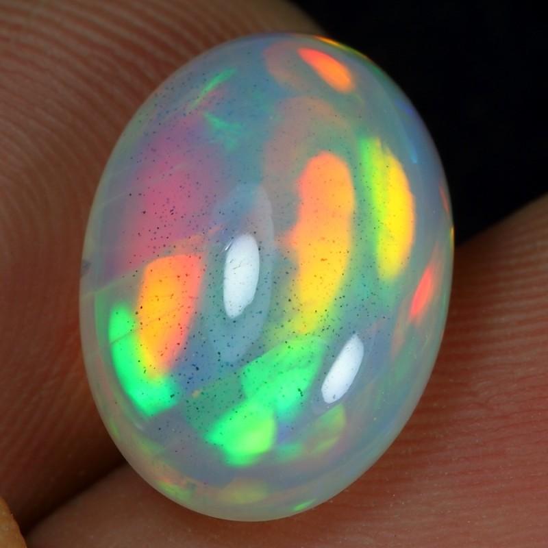 4.50cts Rainbow Snake Skin Pattern Ethiopian Opal