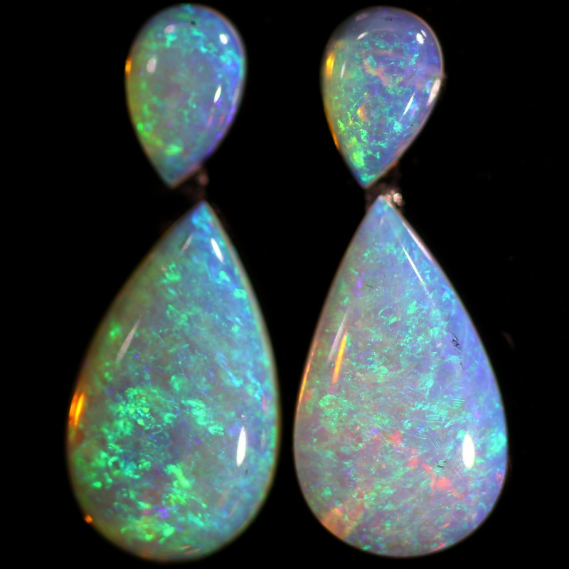 3.16 CTS CRYSTAL OPAL PAIR-CALIBRATED   [C-SAFE335]