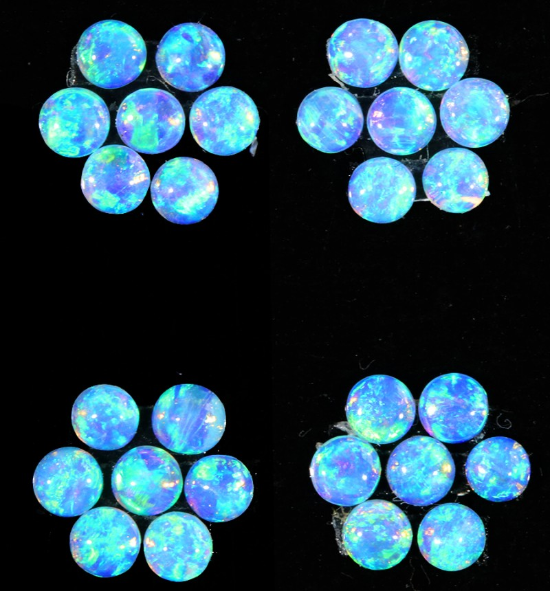 1.31CTS 28 PIECES CALIBRATED OPAL PARCEL GREAT COLOR PLAY- S943