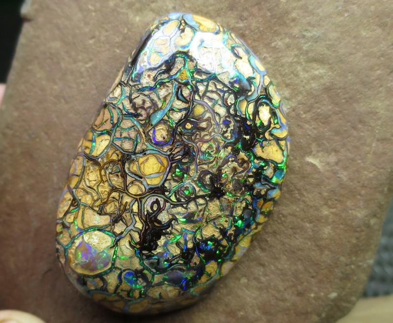 large impressive stone.