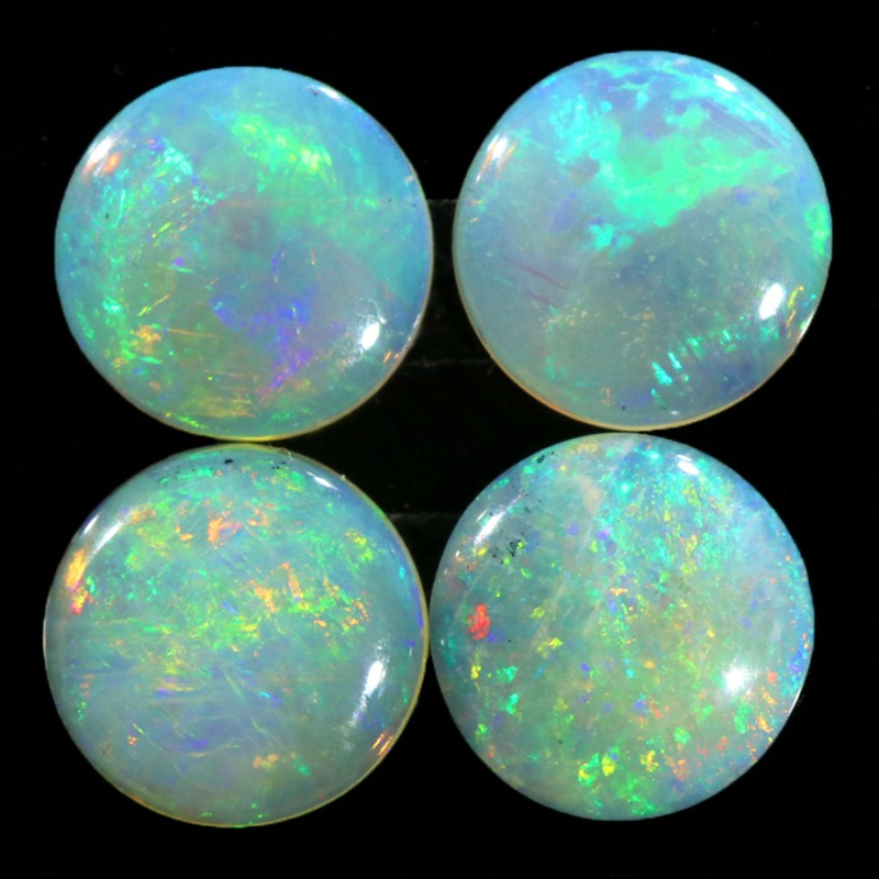 2.24CTS SET 4 STONES PARCEL COOBER PEDY -GREAT COLOR PLAY -S1048