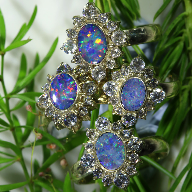 80.15 CTS PARCEL DEAL OF DOUBLET  RINGS [SOJ6545]