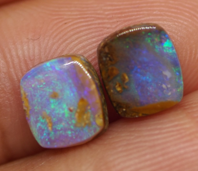 2.50CT VIEW PIPE WOOD REPLACEMENT BOULDER OPAL RE378