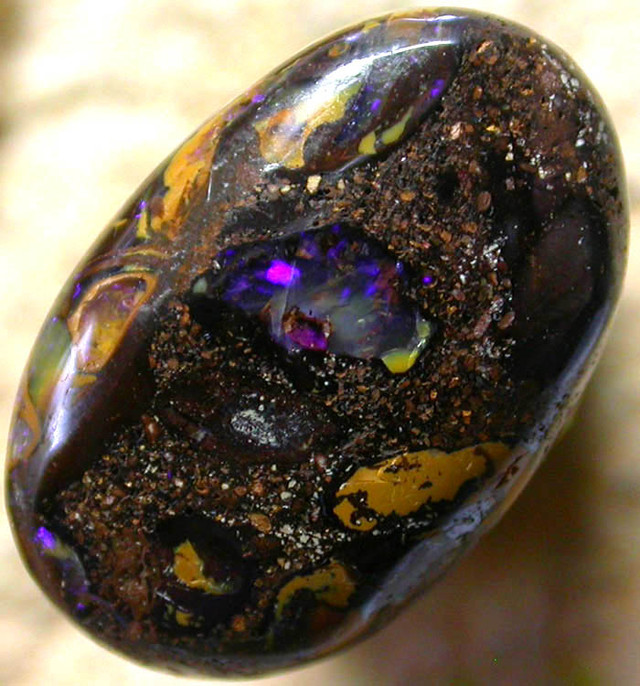7.00 CTS AUSTRALIAN COLOR AND PATTERN KOROIT STONE  FJP960