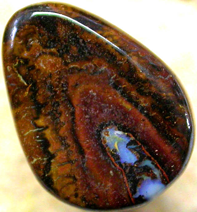 AUSTRALIAN COLOR AND PATTERN KOROIT STONE 6.00CTS FJP1019