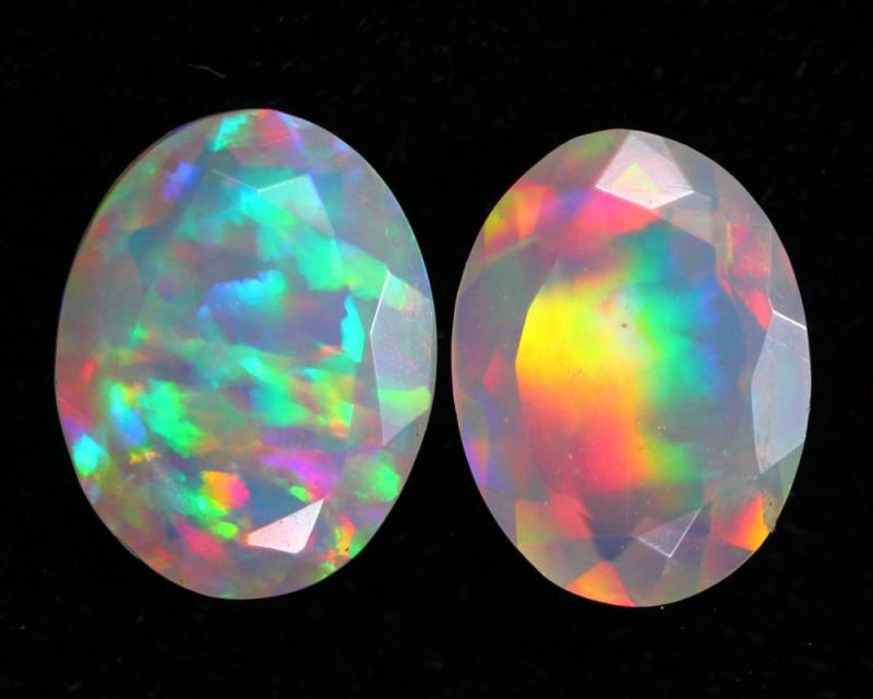 1.36Ct Bright 5/5 Multi Color Ethiopian Welo Opal ~ D05/2