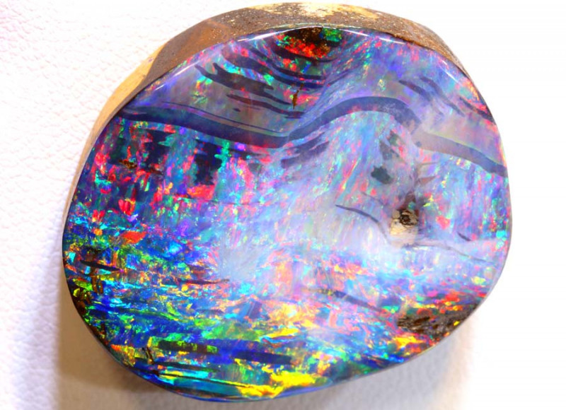71.75 CTS QUALITY  BOULDER OPAL POLISHED STONE INV-417  GC