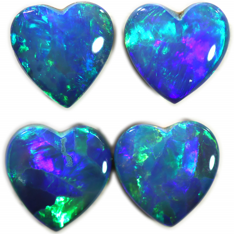 2.29 CTS DOUBLET OPAL PAIRS [SAFE454]