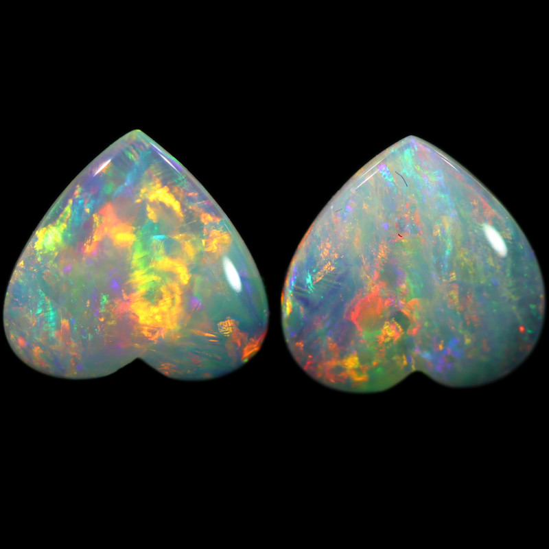 1.27 CTS CRYSTAL OPAL PAIRS [SAFE462]