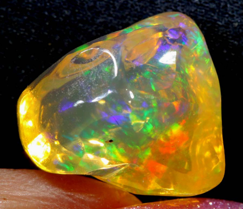 5.8-CTS MEXICAN  FIRE OPAL FREEFORM   FOB-1788