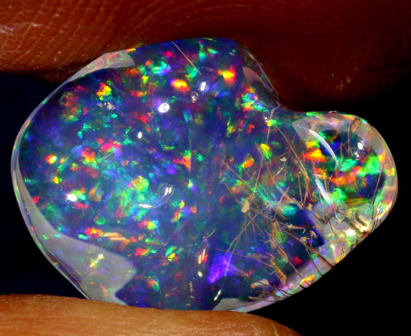 5.6-CTS MEXICAN  FIRE OPALS    FOB-1795