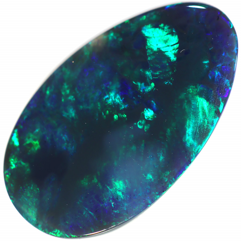 2.75 CTS BLACK OPAL STONE -LIGHTNING RIDGE- PETE [LRO394]