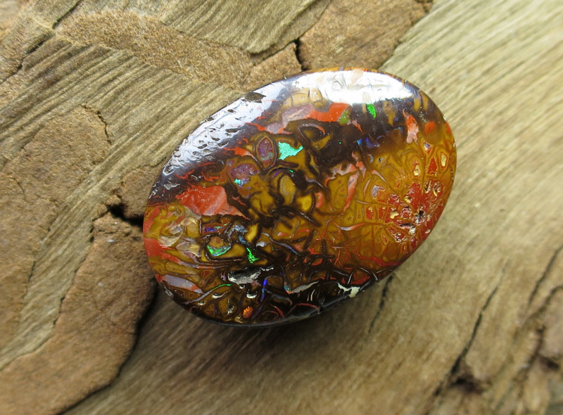 """21cts,""""BOULDER MATRIX OPAL~FROM OUR MINES!"""""""