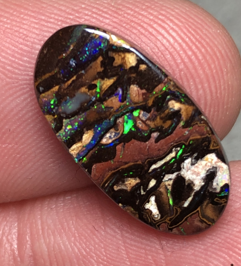 9.5cts Boulder Opal Stone AE26