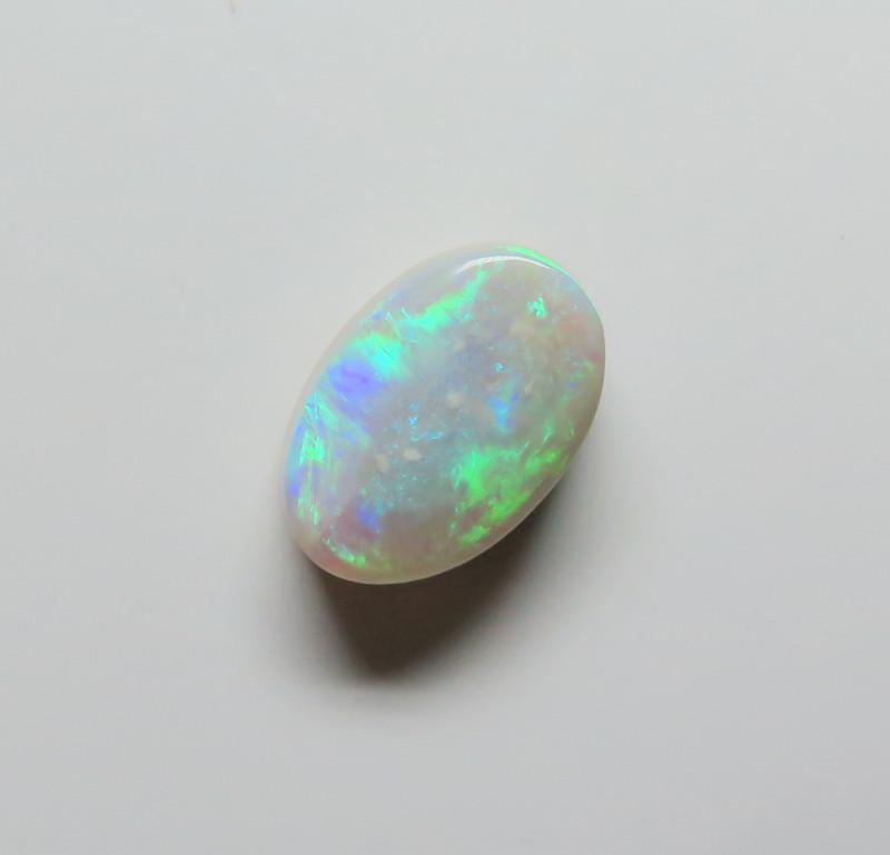 3.32ct Lightning Ridge Semi Black Opal stone