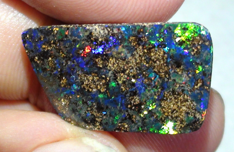8.75 ct Boulder Opal Natural Gem Multi Color